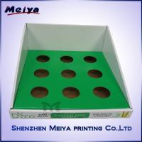 Best Custom Design POP Corrugated Cardbaord Counter Top Display Stands For Stainless Steel Cup wholesale