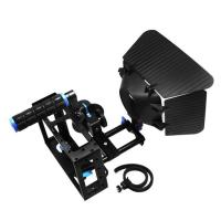Cheap Camera Cage +Top Handle+15mm Aluminum Rod Block Plate+Follow Focus+Matte Box for sale