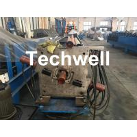 Best Aluminum Or Galvanized Steel Round Downspout Roll Forming Machine For Making Water Pipe, Rainwater wholesale