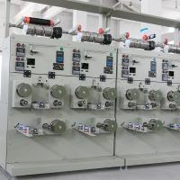 China Industrial Sewing Thread Cone Winding Machine 100-500 M/Min 0.2-0.4 G/Cm3 on sale