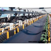 Best Wear Resistant Rubber Flat Mobile Conveyor Belt System For Copper Ore And Gold Ore wholesale