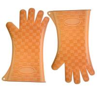 Best Heat -proof and eco-friendly silicone glove with different colors wholesale