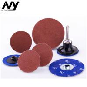 "Best 2"" Quick Change Abrasive Discs For Wood , Orbital Glass Ceramic Type S Sanding Disc wholesale"