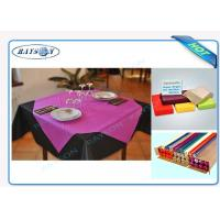 Buy cheap Slices / Rolls Packed Non Woven Polypropylene Tablecloth for Catering Business from wholesalers