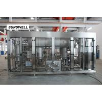 Best Carbonated drink filling machine full automatic carbonated mixer 16C filling temperaute wholesale
