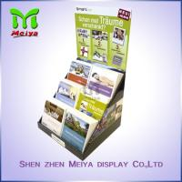Best Customized Paper Pop up Counter Top Display Stands Cardboard PDQ for Books Magazine Brochure wholesale