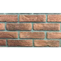 Cheap 3D01 NEW Antique Thin Veneer Outdoor Brick Tiles 205 X 50 X 12mm For Exterior Wall for sale