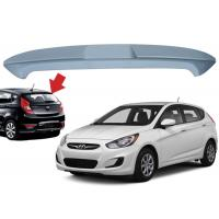 Best Hyundai Accent Hatchback 2010 2015 Car Roof Spoiler ABS Material 136*18*32cm Size wholesale
