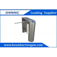 Best NO / NC 304 Stainless Steel Tripod Turnstile Gate For Indoor Office Building wholesale