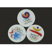 China Waterproof Printed Epoxy Domed Wooden Tea Cup Mat For Promotional Gifts on sale