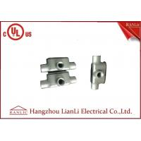 Buy cheap Iron Malleable Conduit Body NPT Thread Fittings Hazadous LL LB LR C T Series from wholesalers