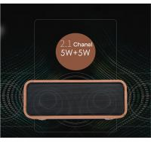 China Super Bass Wooden Desktop Speakers / Wooden Phone Speaker 4.2 Bluetooth Version on sale