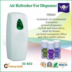 China Personalised Car Spray Air Freshener Dispenser , Automatic Aerosol Dispenser on sale