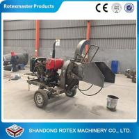 Best CE Approved Small Output Mobile Diesel Engine Wood Disc Chipper in Forest wholesale
