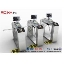 Best Pedestrian Access Control Barriers ESD Face Recognition System Fingerprint Access Control Turnstiles wholesale