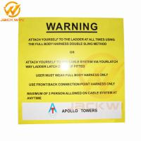 Best Customized Rectangle Reflective Aluminum Warning Sign Roadside Safety Caution wholesale