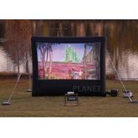Best Commercial Inflatable Movie Screen 210 D Reinforced Oxford Material wholesale