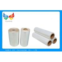 Best Water Soluble PVC Shrink Film Rolls High Shrinkage Ratio For Full Body Sleeves wholesale