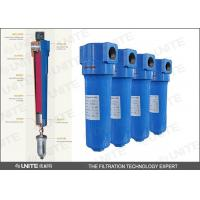 China High efficiency Compressed air filter / SS industrial air filter on sale
