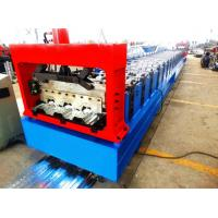 Best Motorized 0.8MM - 1.2MM Roll Forming Machine Professional With 28 Stations wholesale