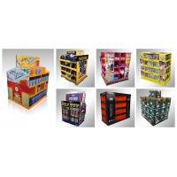 Best Portable Corrugated Half Pallet Cardboard Display Rack For Hand Wash wholesale