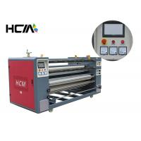 China Heat press printing equipment / roller heat press machine for cut - piece roll to roll fabric on sale