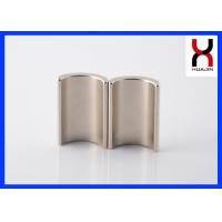Best Neodymium Arc Shaped Magnets For DC / Serve Motor ROHS Certified wholesale