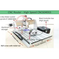 China 4th Axis CNC6040 High Speed Version Desktop CNC Router Machine for 3D Engraving on sale