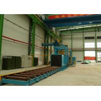 Quality High Power Roller Conveyor Shot Blasting Machine For Steel Plate Materials wholesale