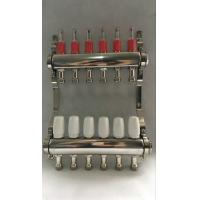 Best Stainless Steel 304 Floor Hydronic Heating Manifold / Brass Water Manifold wholesale