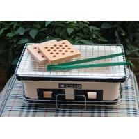 Best Table Top Japanese Mini Ceramic Grill , Rectangle Outdoor Charcoal BBQ Grill wholesale