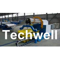 Best 10 Ton Hydraulic Uncoiler Curving Machine With Coil Car With Coil Width 1500mm wholesale