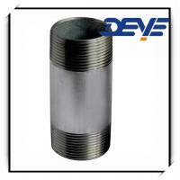 STEEL NIPPLE HOT.DIPPED GALVANIZED BSPT THREAD