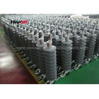 China 46KV Horizontal Composite Line Post Insulator With Clamp Top And Gain Base on sale