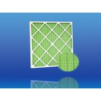 Buy cheap High Efficiency G4 Extended Surface Panel Primary Pleated Air Filter with Galvanized Grid from wholesalers