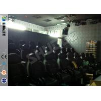 Best Prominent Theme 6D Movie Theater System With Pneumatic / Hydraulic Control Motion Chair wholesale