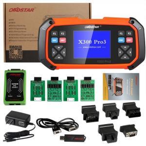Best Immobiliser Odometer Adjustment Car Key Programmer OBDSTAR X300 PRO3 X-300 Key Master wholesale
