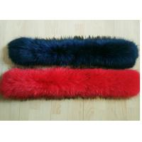 Best 14-20cm Width Raccoon Detachable Fur Collar Smooth For  Winter Jacket Coat wholesale