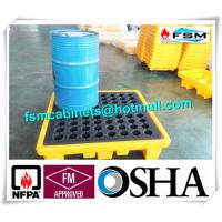 Best Highly Visible IBC Spill Containment Pallet HDPE For Chemical Oil Tank wholesale