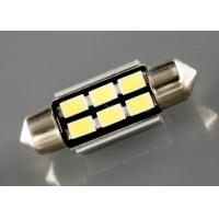Best 3W Car Led Lights Festoon Light Bulbs With Canbus Error Free 36mm 5630 X 6LEDs wholesale