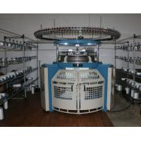 Best Single Jersey Circular Weft Knitting Machine For Reversed Velour Shearing Fabrics wholesale
