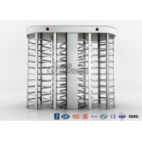 Best Full High Access Control Turnstile Dual Passage RS485 Communications Interface wholesale