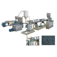 Cheap TSK75 PE PP Caco3 Parallel double screw extruder water ring pelletizing line for sale