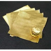 Candy / Chocolate Aluminum Foil Wrappers For Food Packaging 0.012mm Thickness
