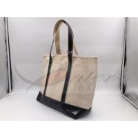 Cheap Beige Canvas Washable Tote Bag , Personalized Canvas Tote Bags 32*29.5*13.5 Cm for sale