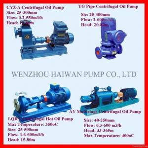 China Centrifugal Oil Pump on sale