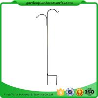 Best Tall Garden Plant Accessories 48 Inch Double Shepherd'S Hook Plant Hanger wholesale