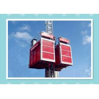 Best Building Elevator Construction Hoist Safety , Man And Material Hoist wholesale