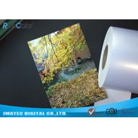 Best High Glossy Metallic Inkjet Media Supplies 260gsm Resin Coated Inkjet Photo Paper wholesale