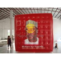 Best Red Reusable durable helium cube balloon with Full digital printing for Sporting events wholesale